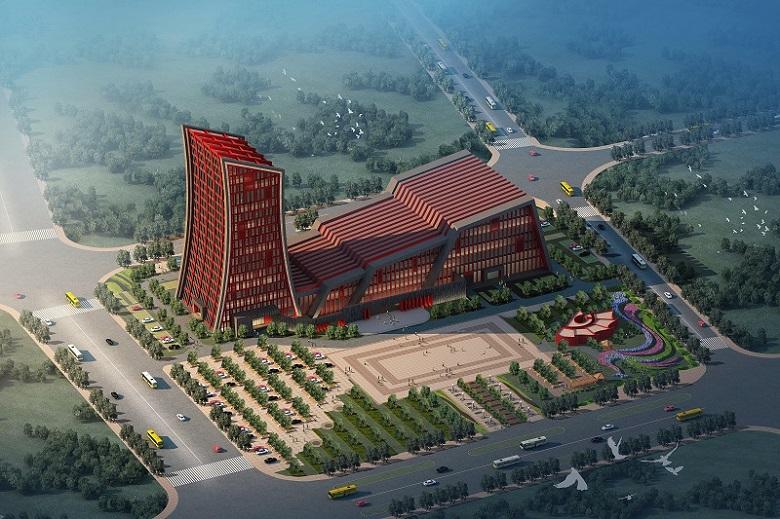 栾川县文化艺术中心(直梯5台)